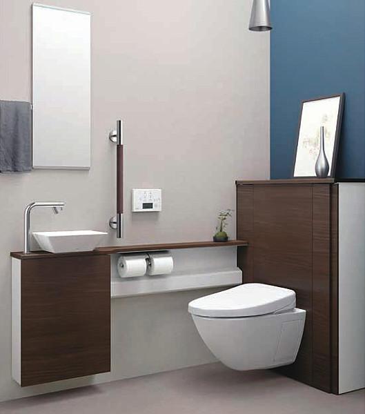 たった1日でトイレと手洗器を施工する方法